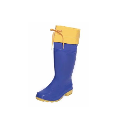Bota Robusta PVC Náutica Azul Bic n36 ao 45